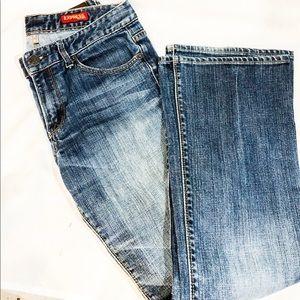 Express Womens Bootcut Jeans